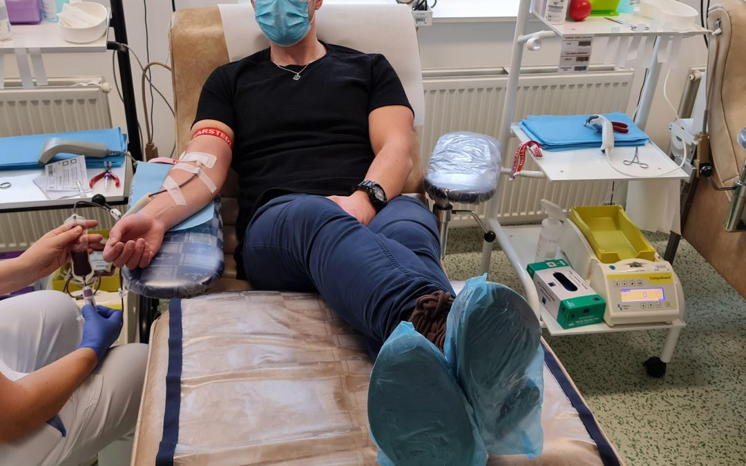 Donating blood with MPOWER